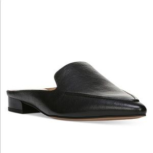 Sela Pointed Toe Slip-On Loafer Mules